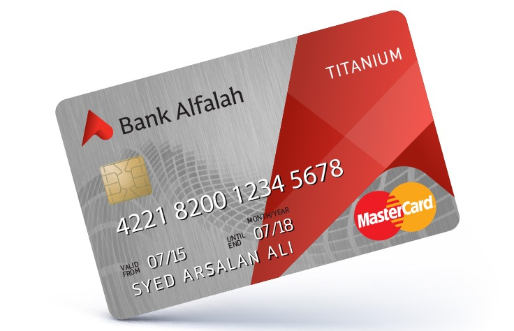 Credit Cards Bank Alfalah