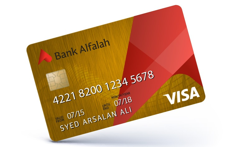 credit cards bank alfalah