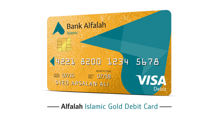 Alfalah Visa Islamic Gold Debit Card