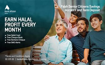 Falah Senior Citizens Savings Account & TDR